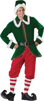SANTAS ELF ADULT COSTUME