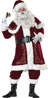 JOLLY OL ST NICK ADULT COSTUME