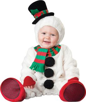 SILLY SNOWMAN TODDLER COSTUME