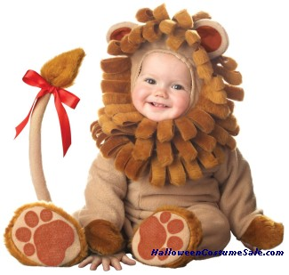 LIL LION LIL CHARACTERS TODDLER COSTUME - VERY CUTE!