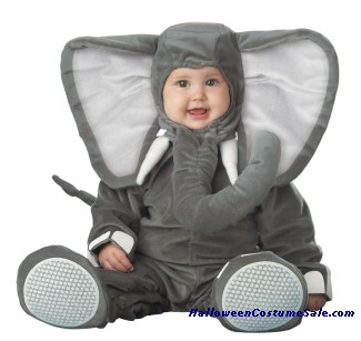 LIL ELEPHANT CHARACTER TODDLER COSTUME - VERY CUTE!