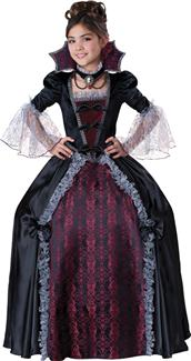 VAMPIRESS OF VERSAILLES CHILD TEEN COSTUME