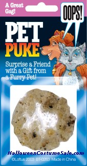 PET PUKE PROP