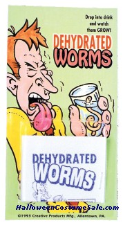 DEHYDRATED WORMS