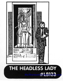 HEADLESS LADY ILLUSION PLANS