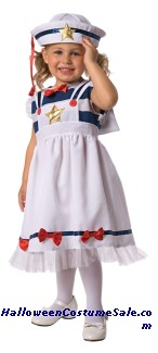 Sweet Sailor Toddler Costume