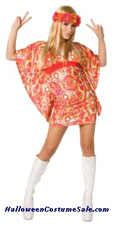 Flower Power Adult Costume