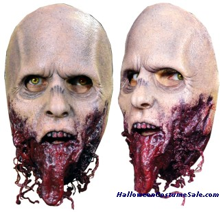 WALKING DEAD JAWLESS WALKER ADULT LATEX MASK
