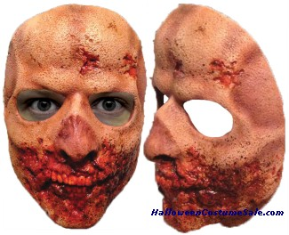 WALKING DEAD TEETH WALKER ADULT LATEX MASK