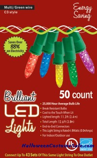 50L C3 MULTI HOLIDAY LIGHTS