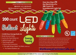 200L C3 MULTI HOLIDAY LIGHTS