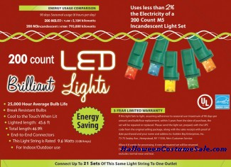 200L M5 MULTI HOLIDAY LIGHTS