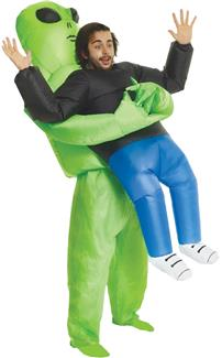 Pick Me Up Alien Inflatable Costume