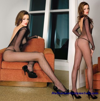 FISHNET BODYSTOCKING PLUS SIZE