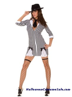GANGSTER COSTUME - PLUS SIZE