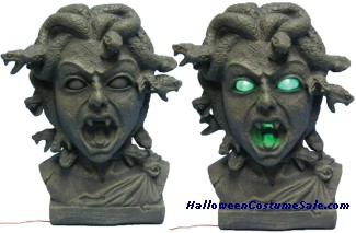 ANIMATED MEDUSA 11 INCH BUST