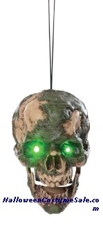 UNDEAD FRED HANGING HEAD PROP
