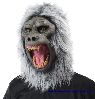 BABOON ADULT LATEX MASK