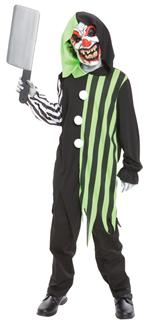CLEAVER THE CLOWN CHILD COSTUME