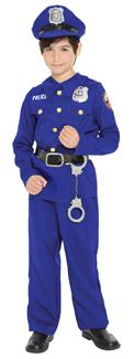POLICE OFFICER BOYS CHILD COSTUME