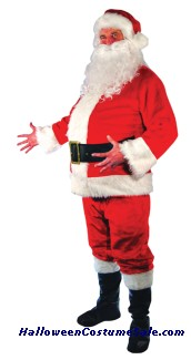 SANTA SUIT - ADULT COSTUME