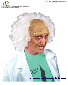 MAD SCIENTIST WIG - YOULL GO CRAZY WITH THIS ONE!