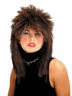 SPIKED TOP WIG