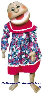 PUPPET DELUXE GIRL, BLACK