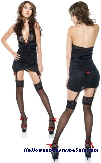 LACE HALTER ADULT COSTUME