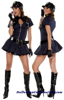 POLICE PLAYMATE ADULT COSTUME - VERY HOT!