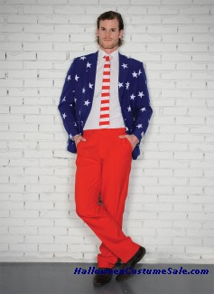 STARS AND STRIPES ADULT COSTUME