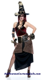 WITCHCRAFT WOMENS ADULT COSTUME