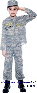 US ARMY OFFICER CHILD COSTUME