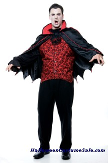 COUNT ADULT COSTUME - PLUS SIZE