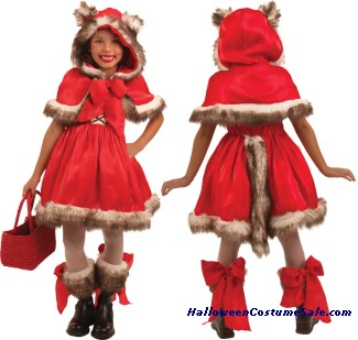 LITTLE RED WOLF CHILD COSTUME