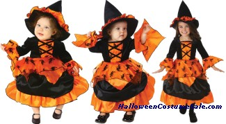 AMELIA WITCH INFANT TODDLER COSTUME