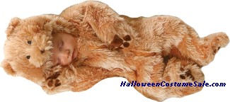 SNUGGLE BEAR NEWBORN COSTUME