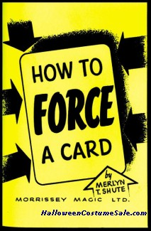 HOW TO FORCE A CARD BOOK
