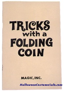 TRICKS WITH A FOLDING COIN
