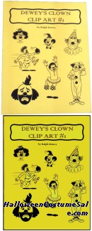 DEWEYS CLOWN CLIP ART #1