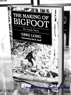 MAKING OF BIGFOOT BOOK