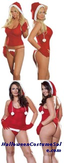 NORTHPOLE HOTTIE COSTUME