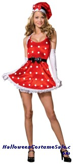 HOLIDAY PINUP ADULT COSTUME