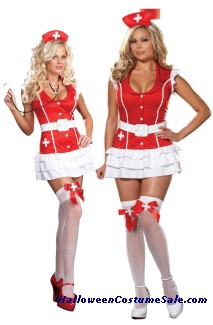 VITAL SIGNS ADULT NURSE COSTUME - VERY HOT!
