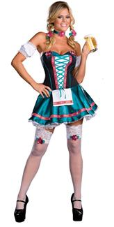 HEIDI HOTTIE WOMENS ADULT COSTUME