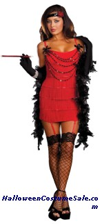 RUBY RED HOT ADULT COSTUME