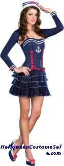 SURF CITY SWEETIE ADULT COSTUME