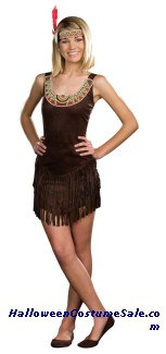 TRIBAL BEAUTY TEEN COSTUME