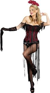 BURLESQUE BEAUTY ADULT COSTUME