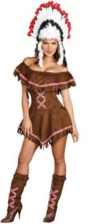 TIPPIN TEEPEES PLUS SIZE ADULT COSTUME